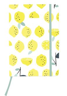 Lemons Medium Hardcover Journal