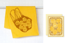 Lemons Towel & Card