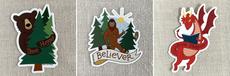 Believer Sticker Set