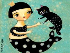 Mermaid & Mercat Mini