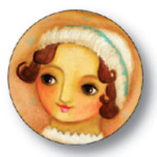 Jane Austen Button