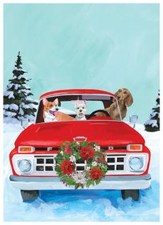 Red Truckin' Dogs