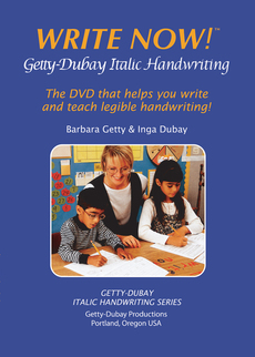 Write Now! Italic Handwriting Video DVD