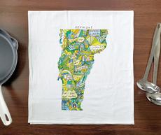 Doodle: Vermont Towel