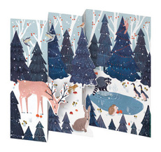 Hideaway Hollow Tri-fold Boxed Cards