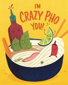 Crazy Pho You Collage Card