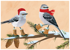 Merry Mockingbirds