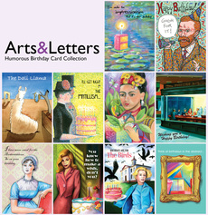 Arts & Letters Humorous Birthday Card Collection