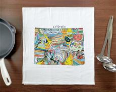 Doodle: Colorado Towel