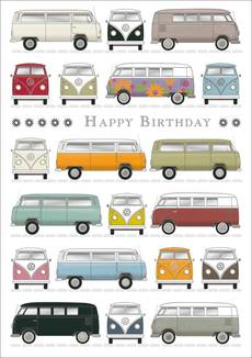 Van Birthday Adventure Card