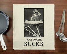Housework Sucks Towel