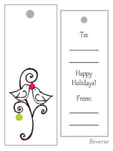 Doves Gift Tag