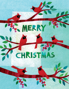Christmas Cardinals