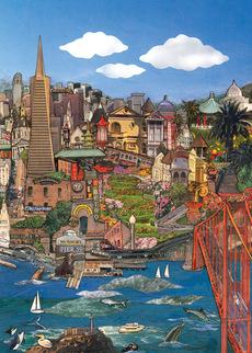 San Francisco Cityscape Blank