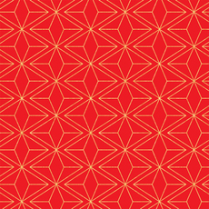 Geometric Winter Wrap