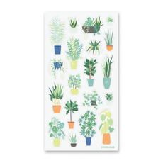 Happy House Plant Stickers