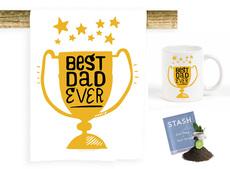 Best Dad Towel, Mug, & Set