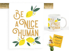 BE a Nice Human Towel, Mug, & Set