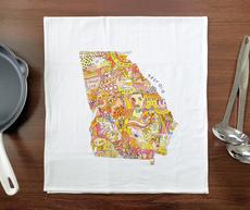 Doodle: Georgia Towel