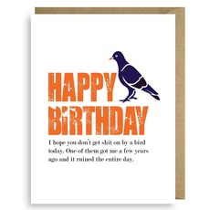 Happy Bird-Day Card