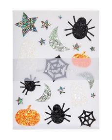 Halloween Glitter Stickers
