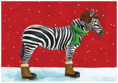 Winter Zebra