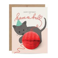 Kitten Pop Up Card