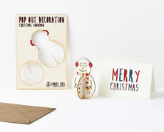 Snowman Pop Out Card