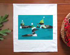 Loons Holiday Towel