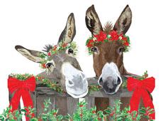 Donkey Christmas