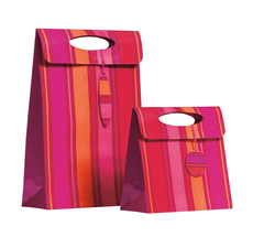 Lido Red Stripe Bag
