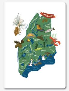 Hello: Maine Notebook