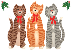 Caroling Cats