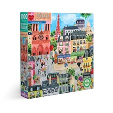 Paris in a Day Puzzle - 1000pc
