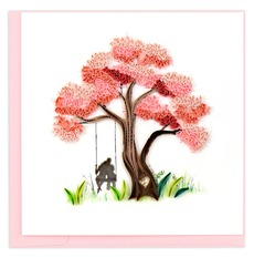 Blossoming Love Tree Quilled Card