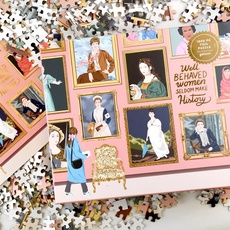 Herstory Museum Gold Foil Puzzle - 1000pc