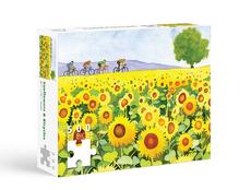 Allport Sunflower and Bikes Puzzle - 500pc
