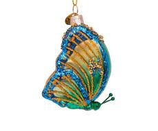 Butterfly Hand Blown Glass Ornament