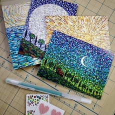 Sun and Moon Card Set