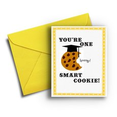 One Smart Cookie Graduation Card