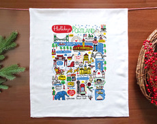 Holidays in PDX Towel