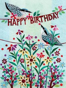 Nuthatch Birthday Birds