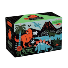 Dinosaurs Glow-in-the-Dark 100pc Puzzle