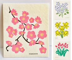 Spring Flowers Swedish Dishcloths