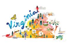 Watercolor USA: Virginia