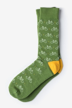 Cycle of Life Green Socks
