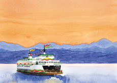 Festooned Ferry