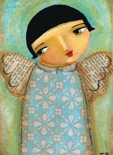 Winter Angel Mini
