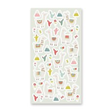 Lovely Llamas Stickers
