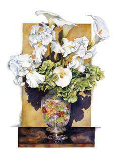Cloisonne Spring Whites